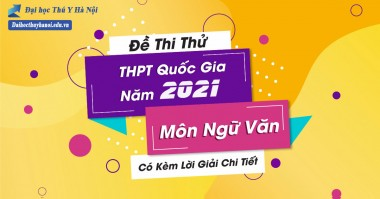 Đề cương ôn tập môn Ngữ Văn cho thí sinh thi THPT quốc gia 2021